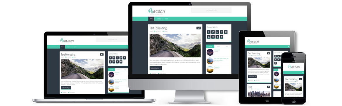 Aocean Wordpress Theme