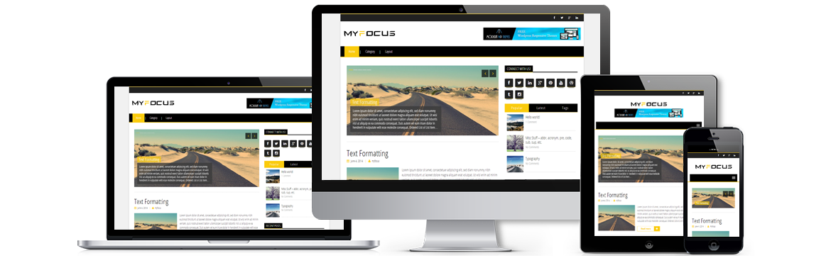 My Focus Wordpress Theme
