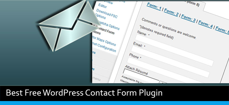 6 Best Free WordPress Contact Form Plugin Of 2017