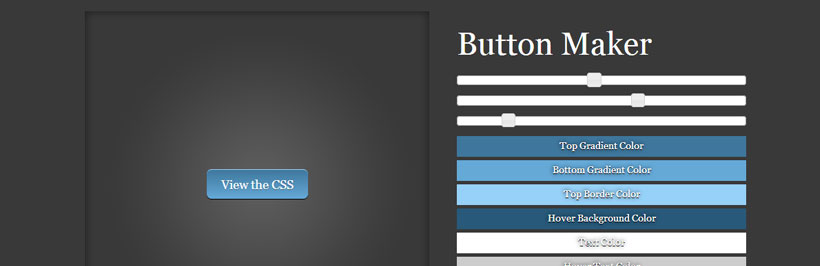6 Extremely Useful Online CSS3 Button Generator