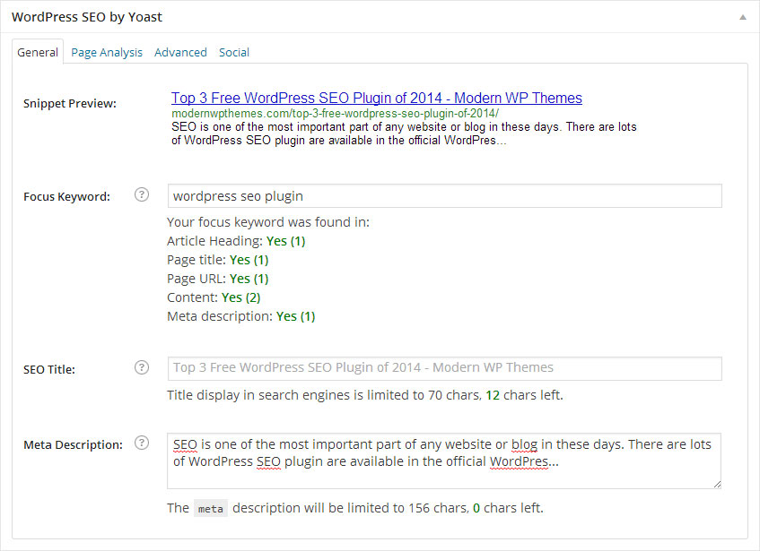 Top 3 Free WordPress SEO Plugin of 2014