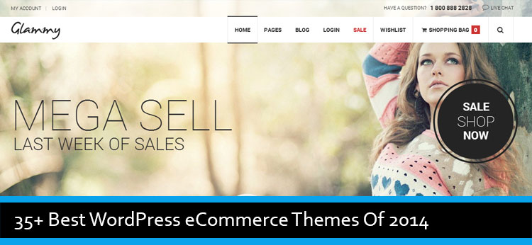 63 Best Premium WordPress eCommerce Themes Of 2014