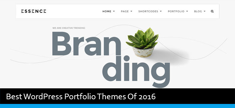 13 Best WordPress Portfolio Themes Of 2017