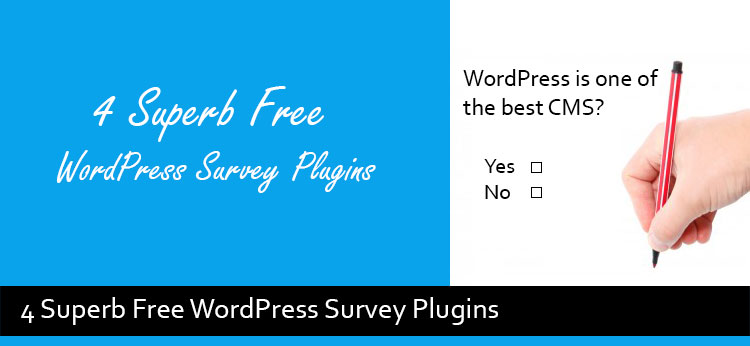 4 Free Best WordPress Survey Plugins Of 2017
