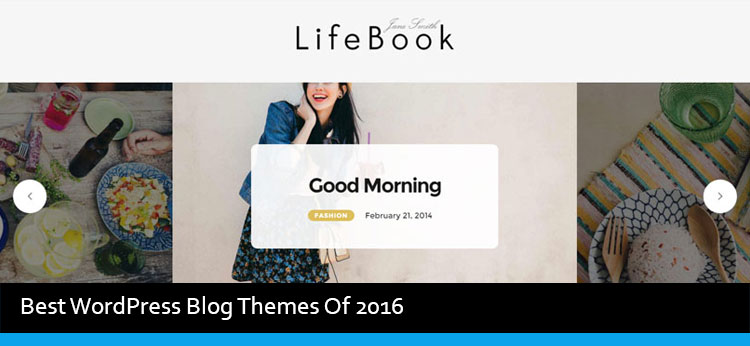 40 Best WordPress Blog Themes Of 2017