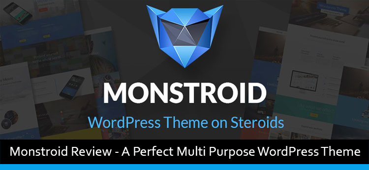 Monstroid Review – A Perfect Multi Purpose WordPress Theme