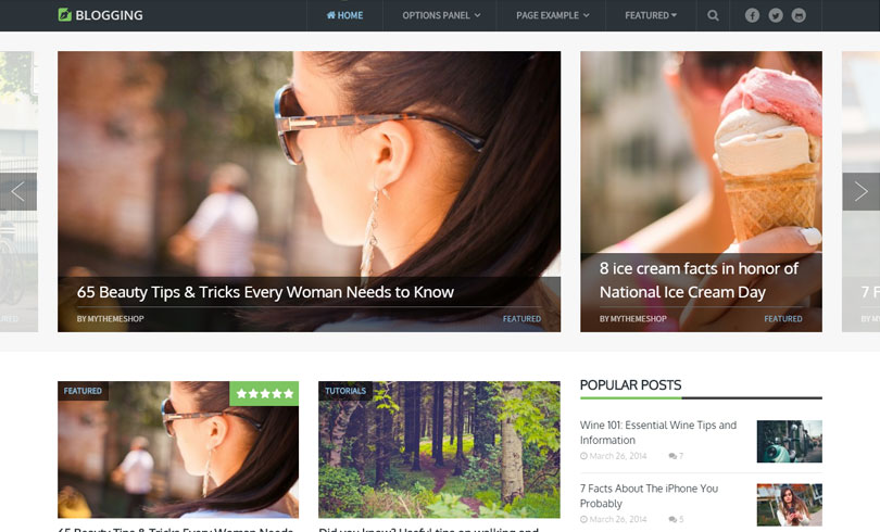 Best WordPress Themes MyThemeShop