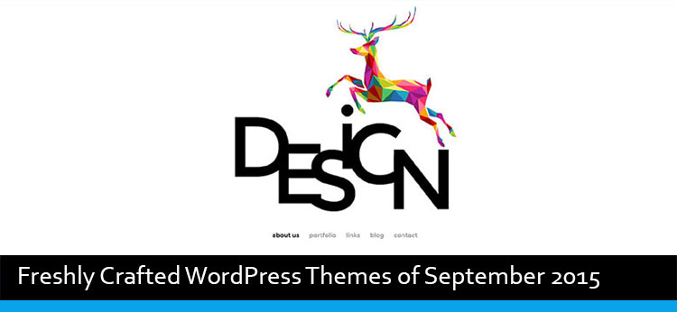 20 Freshly Crafted WordPress Themes of September 2015