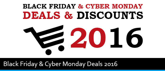 10 Best Black Friday & Cyber Monday Deals For Bloggers 2016