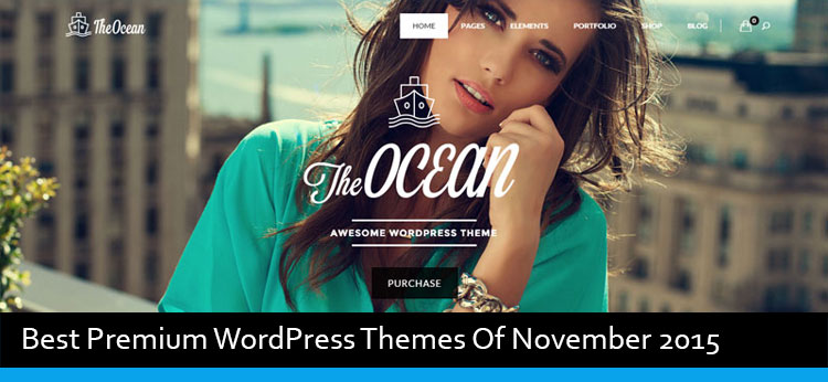 22 Best Premium WordPress Themes Of November 2015
