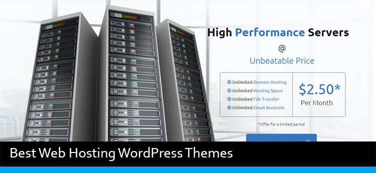 9 Best Web Hosting WordPress Themes Of 2017