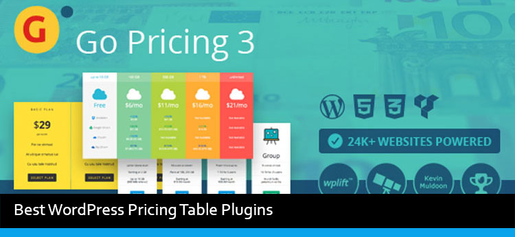 5 Best WordPress Pricing Table Plugins Of 2017