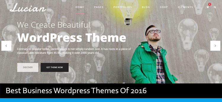18 Best Business WordPress Themes Of 2017