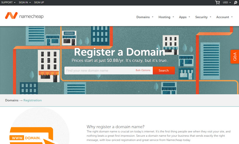 Best Website To Buy A Domain Name