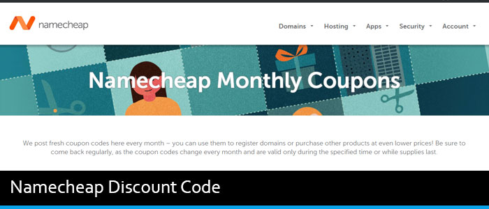 Namecheap Discount Code August 2017 (Upto 40% OFF)