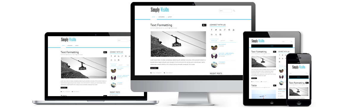 Simply VisiOn WordPress Theme