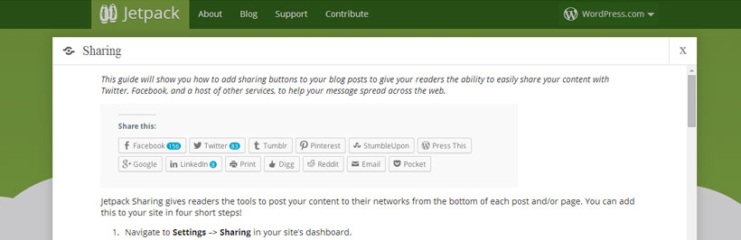 Free Best WordPress Social Media Plugin