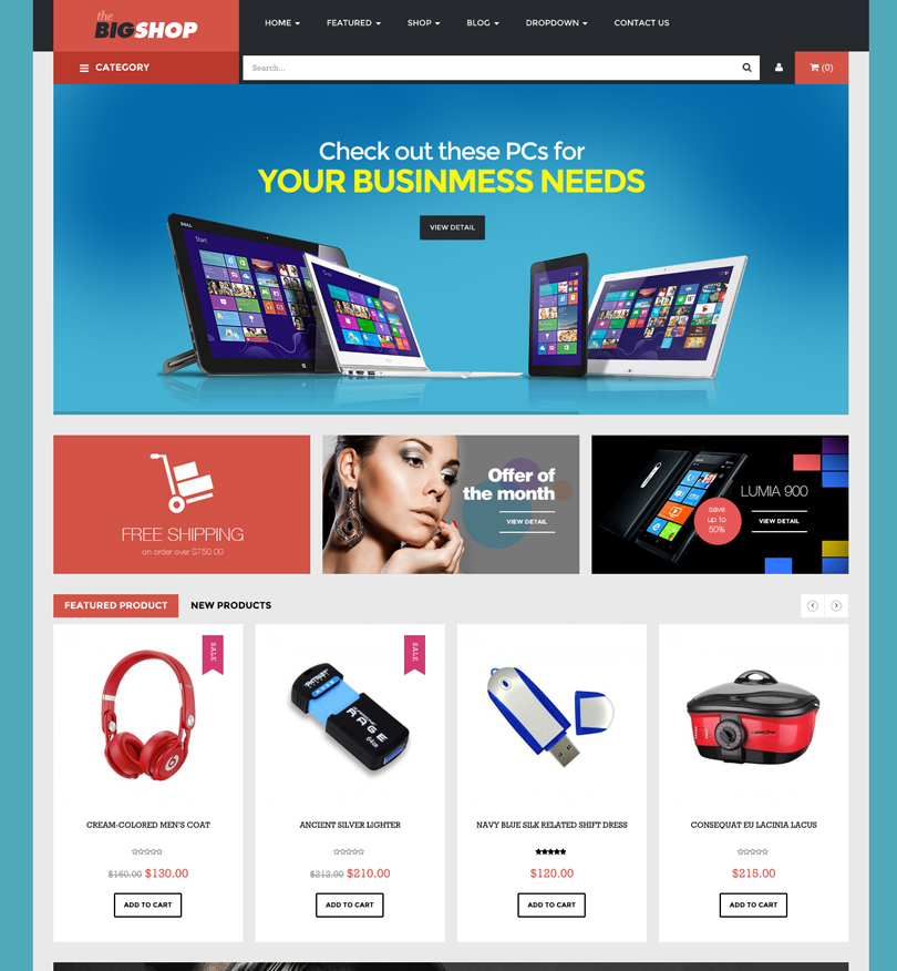 63 Best Premium WordPress eCommerce Themes Of 2014 - Modern WP Themes