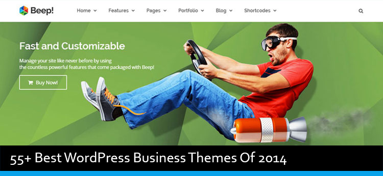 74 Best WordPress Business Themes Of 2014