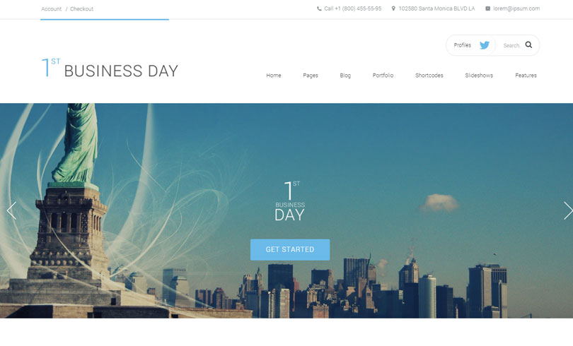 Best WordPress Business Theme Of 2014