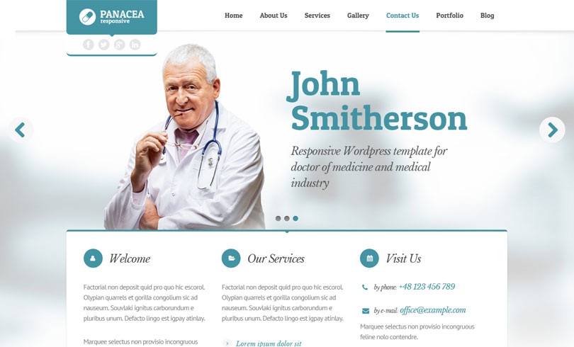Best Health And Medical WordPress Themes