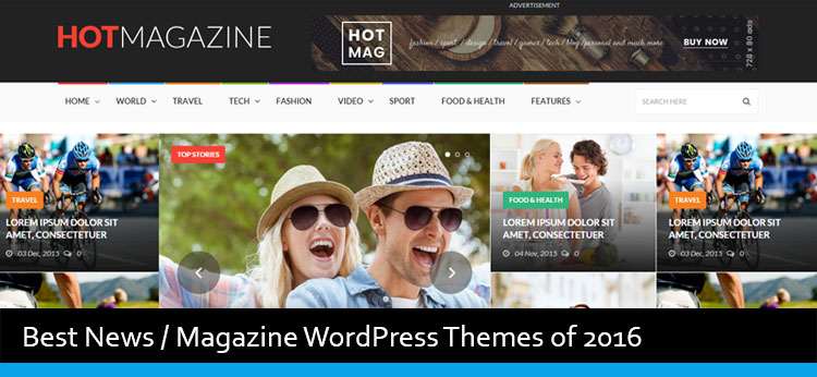 22 Best News Magazine WordPress Themes Of 2018 - Modern WP Themes