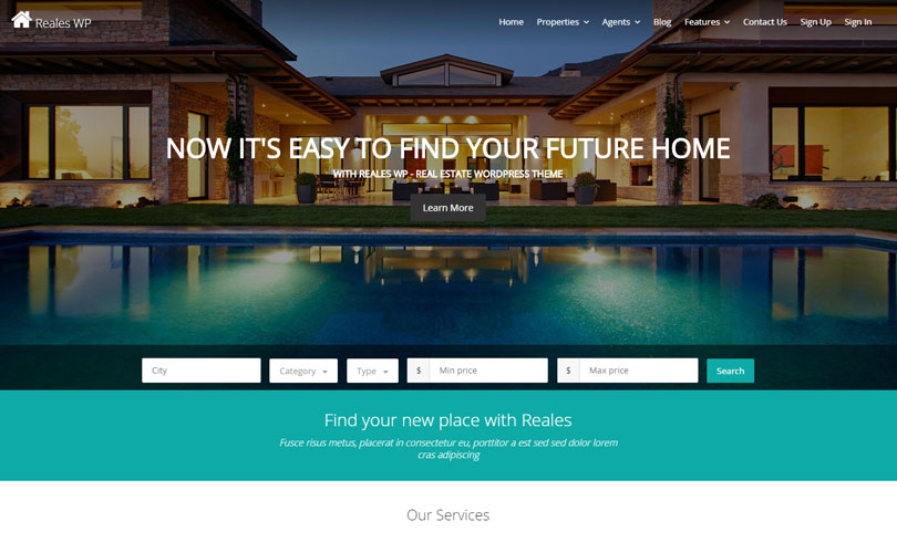 33 Best Real Estate WordPress Themes Of 2017 - Modern WP Themes