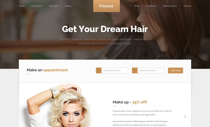 16 Best Spa And Beauty Salon WordPress Themes Of 2020 - Modern WP ...
