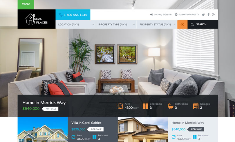 Best Real Estate WordPress Themes