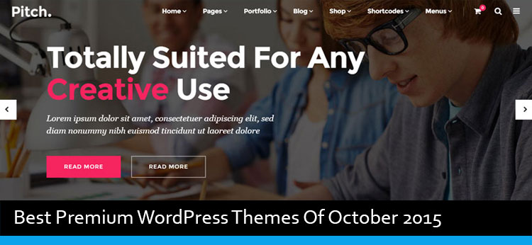 14 Best Premium WordPress Themes Of October 2015