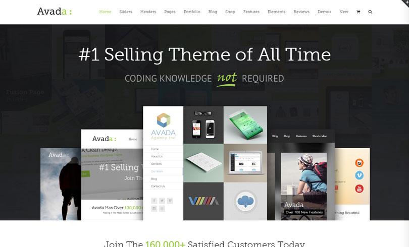 Best Most Popular Multi Purpose WordPress Themes