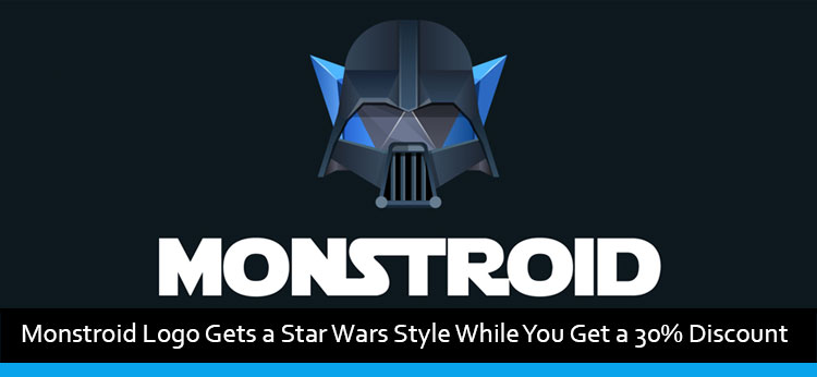 Monstroid Logo Gets a Star Wars Style While You Get a 30% Discount
