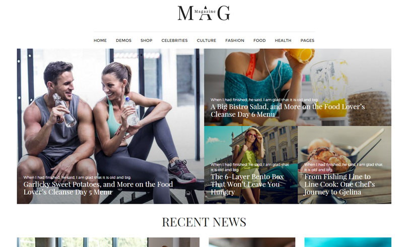 Best News Magazine WordPress Themes Of 2016