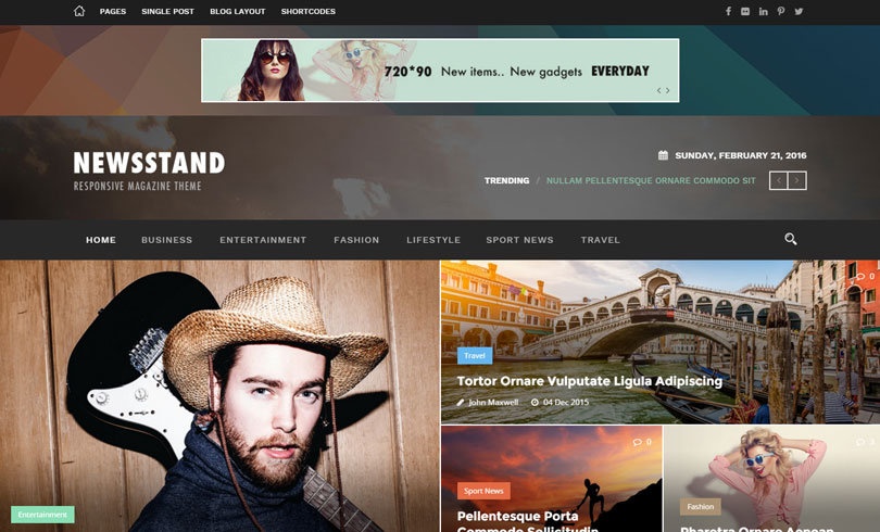 Best Premium WordPress Themes Of February 2016