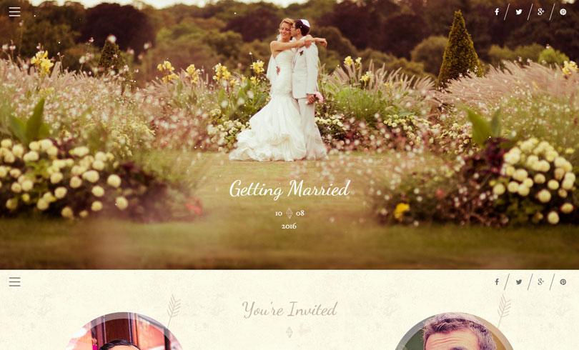 Best WordPress Wedding Themes