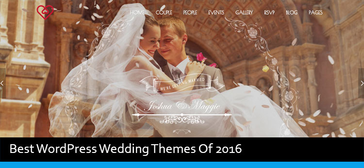 10 Best WordPress Wedding Themes Of 2017