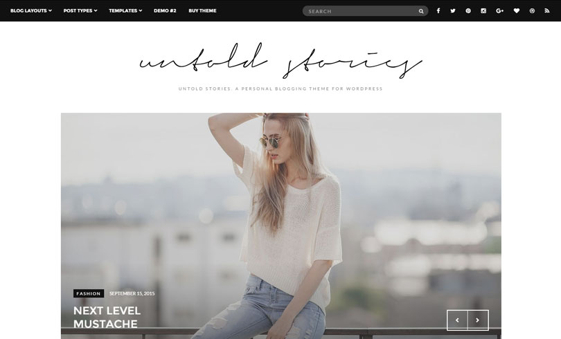 Best WordPress Themes For Fashion Blog