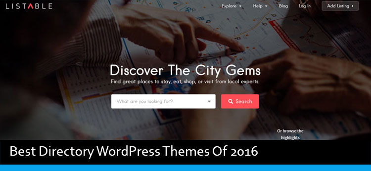 10 Best Directory WordPress Themes Of 2019