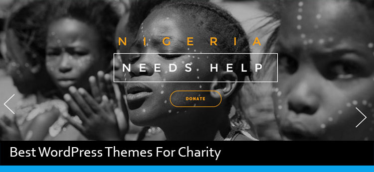 9 Best WordPress Themes For Charity, Fundraising and Non-profit Organization Of 2017