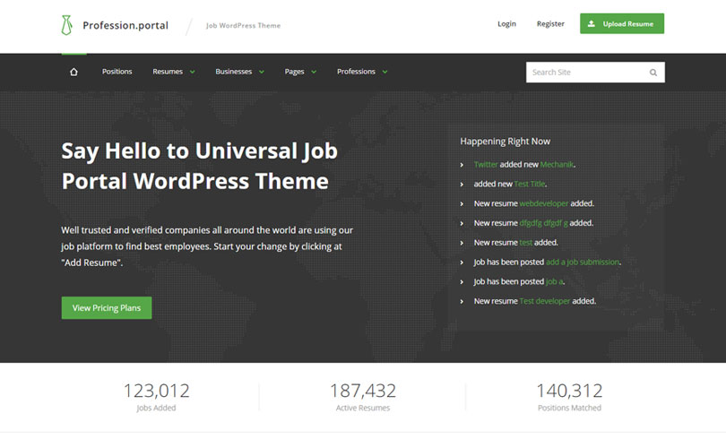 7 Best Job Board WordPress Themes Of 2018 - Modern WP Themes