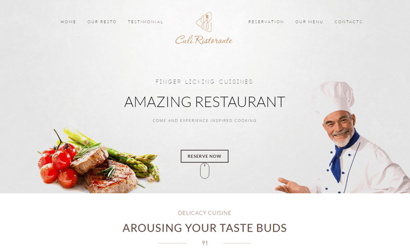 Best Restaurant WordPress Theme