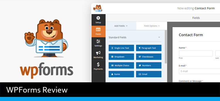 WPForms Review - Best Drag And Drop Form Builder WordPress Plugin