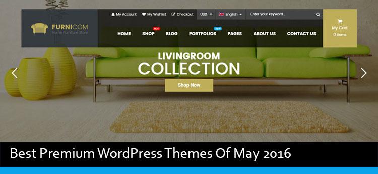20 Best Premium WordPress Themes Of May 2016