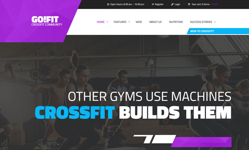 Best Fitness WordPress Themes
