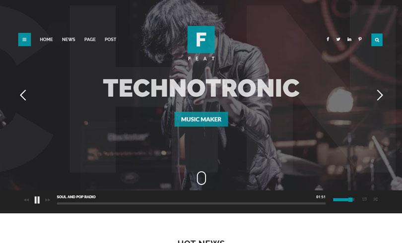 Best Music WordPress Themes