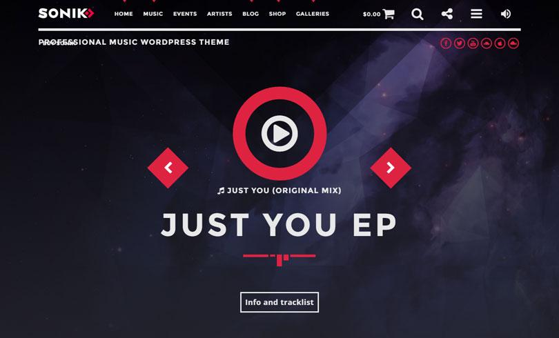 13 Best Music WordPress Themes Of 2019 - Modern WP Themes