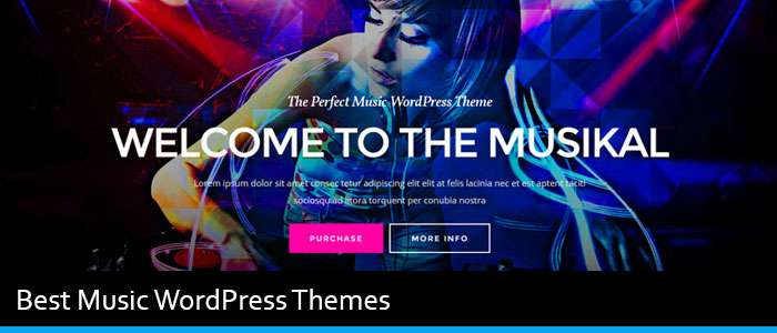 13 Best Music WordPress Themes Of 2019