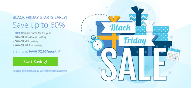 Bluehost Black Friday And Cyber Monday Deals For Bloggers